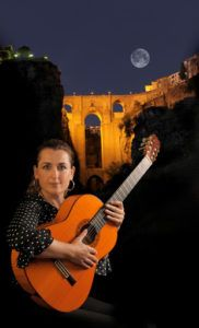 Traditional Flamenco Guitar Celia Morales de Ronda