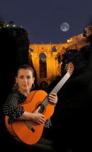 Traditional Flamenco Guitar Celia Morales de Ronda