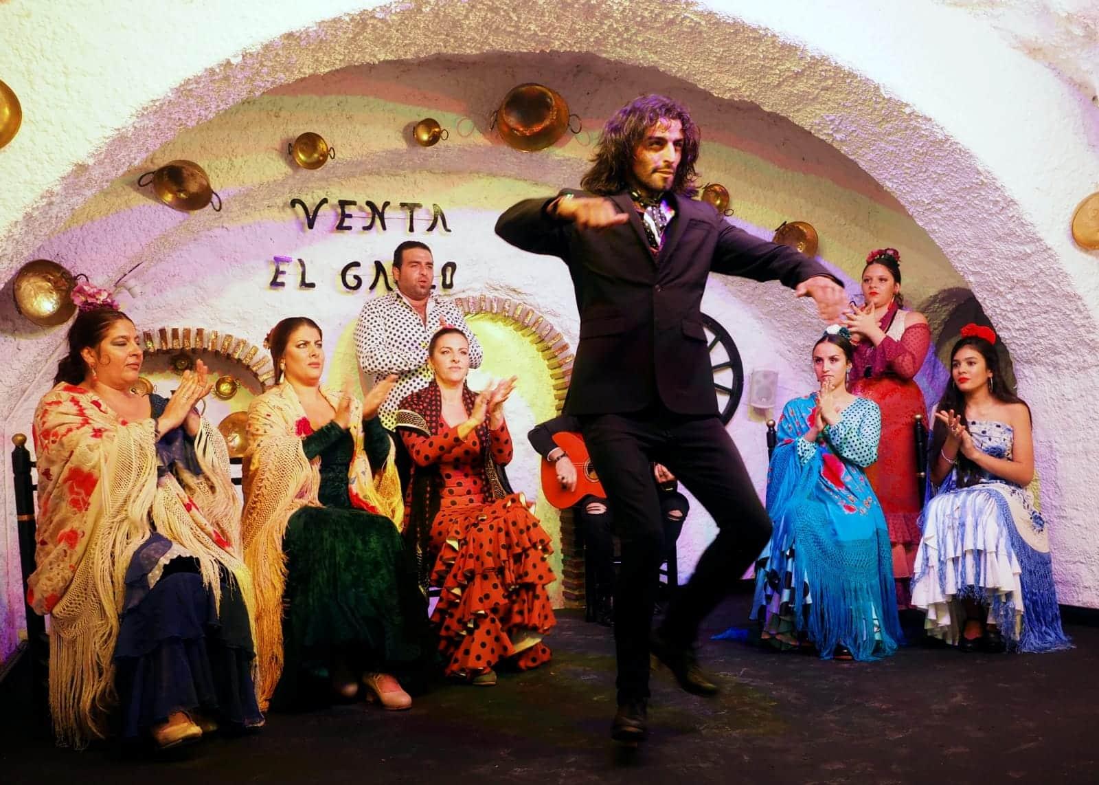 Cuadro Flamenco Venta El Gallo