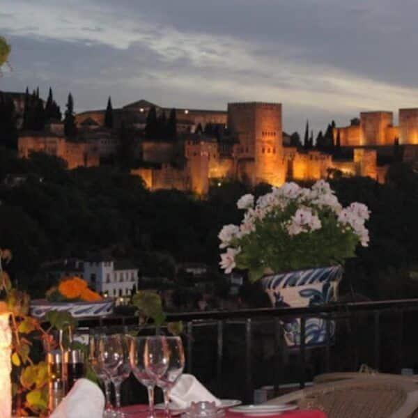 Vista Venta El Gallo en Granada