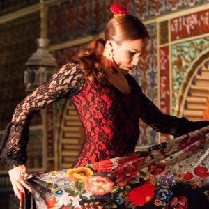 Bailaora del Tablao Flamenco Torres Bermejas