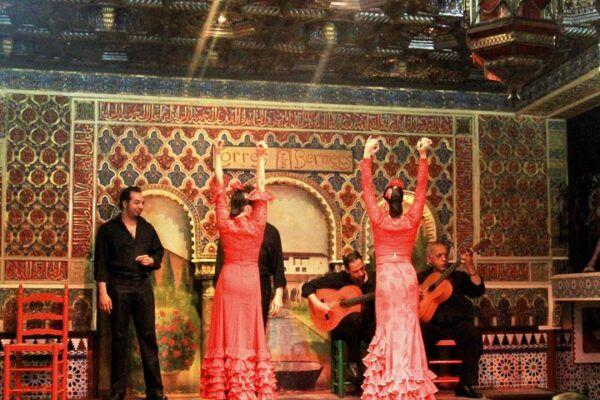 Bailaoras del Tablao Flamenco Torres Bermejas
