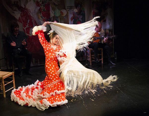 Baile Flamenco en Teatro Flamenco Triana 2