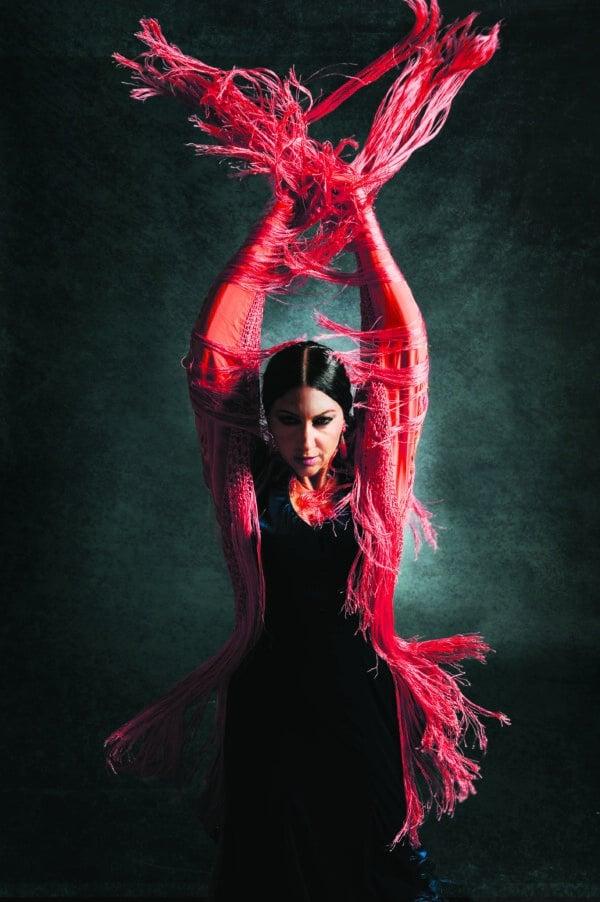 Bailaora FRANCHESCA de Tablao Flamenco Sevilla 3