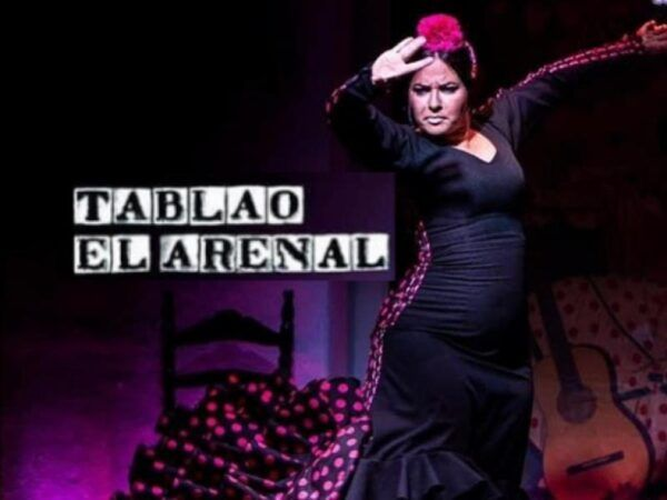 Bailaora en Tablao Flamenco El Arenal