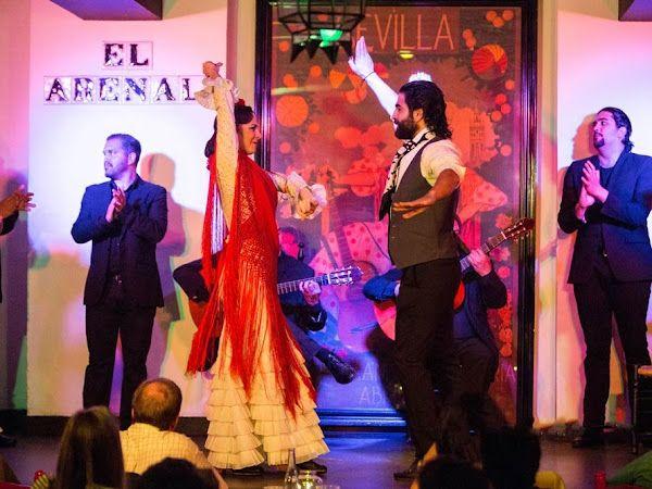 Baile en Tablao Flamenco El Arenal