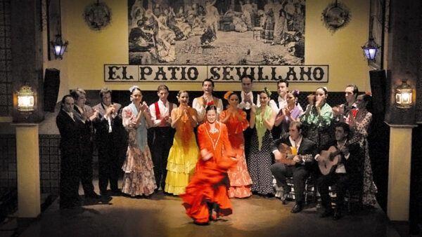 Cuadro Flamenco El Tablao Flamenco El Patio Sevillano