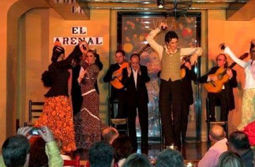 Cuadro Flamenco en Tablao Flamenco El Arenal