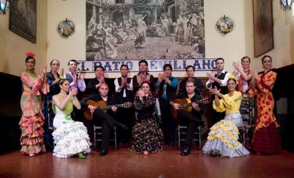 Cuadro Flamenco en el Tablao Flamenco El Patio Sevillano